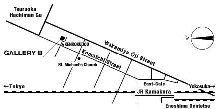 GALLERY B Map